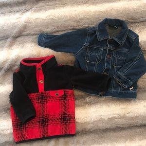 Infant Jackets - 2pcs - 3-6m